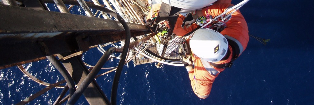 Rope Access Inspection, Repair and Maintenance services for the Oil & Gas industry
