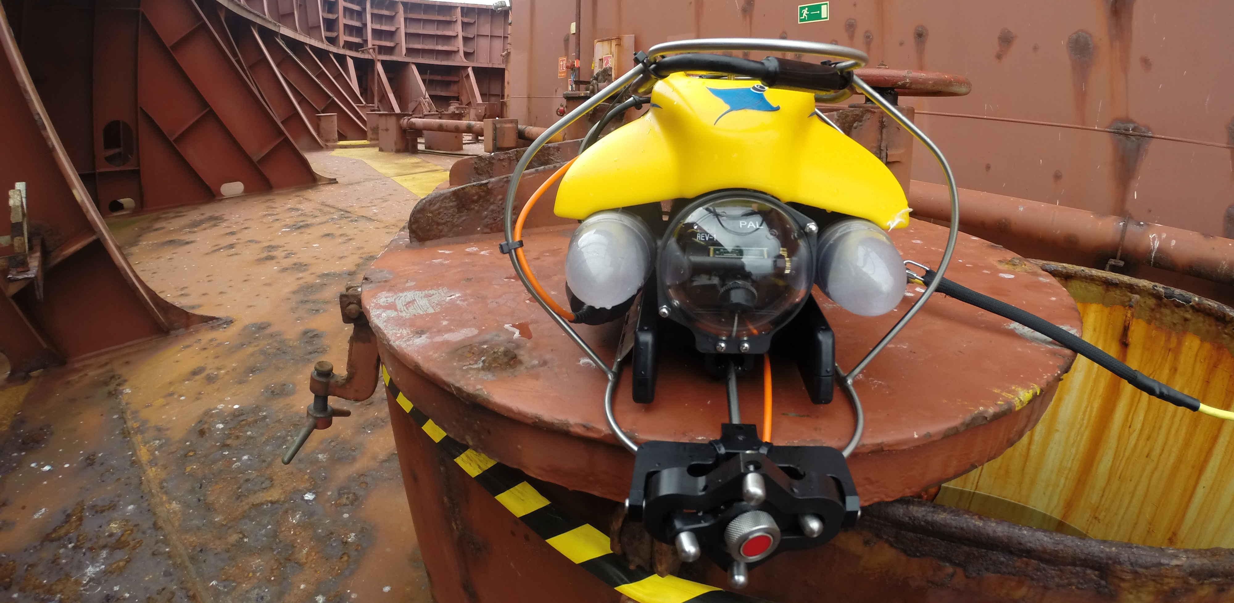Trac Rov Amp Uav Services Visual Inspections Trac Oil